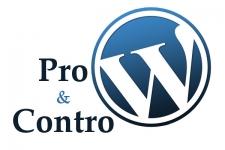 Siti web con Wordpress: Pro & Contro
