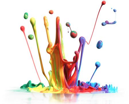 spruzzo di vernice per grafica