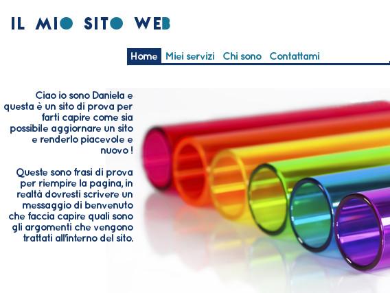 aggiornamento sito web bel sito