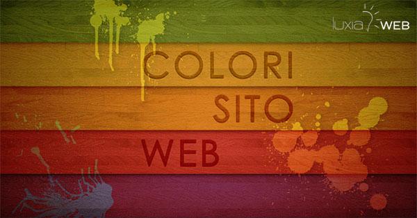 scegliere colori per sito web