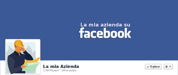 pagina facebook azienda