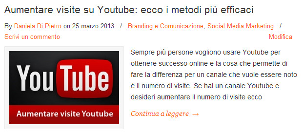 aumentare visite youtube